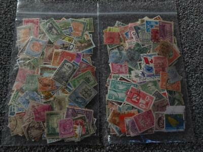 2 X Large Bag Of British Commonwealth Stamps - Good Sorter Lot