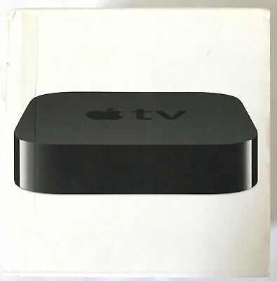 Never Used Apple TV 3rd Generation - A1469 - remote, power cord, and HDMI cable