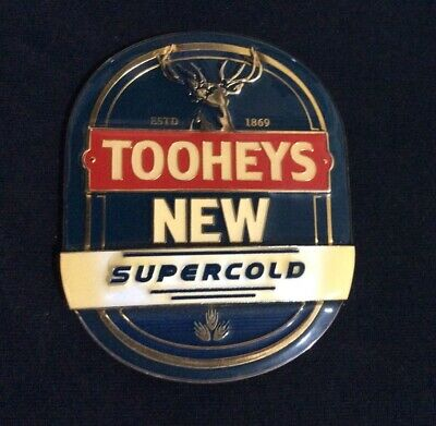 Tooheys New Beer Tap Badge