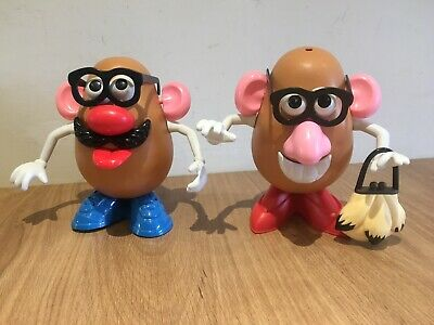 Mr & Mrs Potato Head Pair Couple Him & her Play Skool Playskool Toy Story Toys