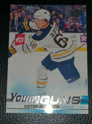 Victor Olofsson 2019/20 UD Young Guns Series One Rookie#207 Mint!