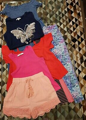 Large Bundle Girls Clothes Age 6-7 & Age 6-7 Next Marks And Spencer, Next etc