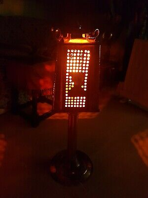 Arts & crafts Hand Hammered Copper Standing Lamp Light