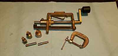 Clock Mainspring Winder Brass & Steel Clockmakers TOOLS #151