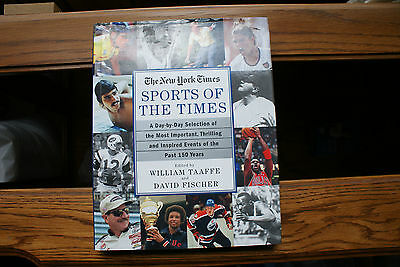 The New York Times Sports of The Times Book Autograph William Taaffe Greg Maddux