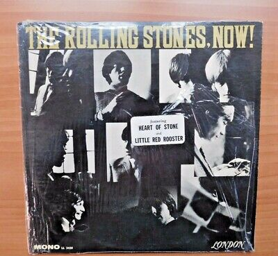 """VINTAGE LP RECORD  MONO """"THE Rolling Stones Now """" SHRINK WRAPED & HYPE MINT 1965"""