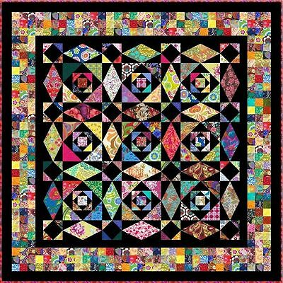 """INTRINSIC - 72"""" - Pre-cut Quilt Kit by Quilt-Addicts Double size."""
