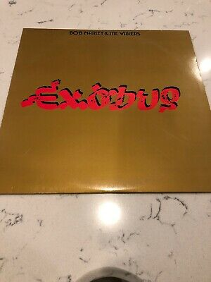 Bob Marley & The Wailers Exodus LP Record Vinyl Album W Sleeve VG+/EXCELLENT