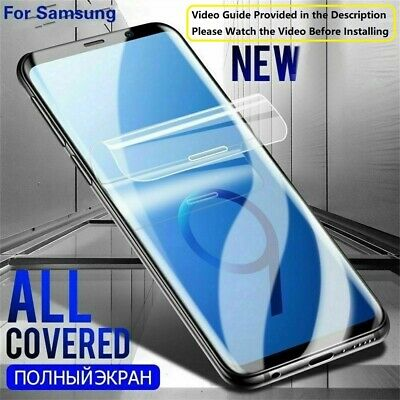 Hydrogel Film Screen Protector For Samsung S8 S9 S20 Ultra Note 8 9 S 10 Plus 5G