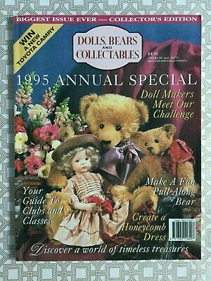 Dolls Bears and Collectables Vol 1 No 4 1995 annual special tiny teddies preown