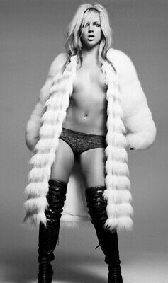 Britney Spears - In Panties And No Top But Wearing A Long Coat !!!