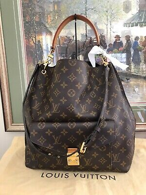 ❤ Louis Vuitton Metis Monogram ❤  2- Way Hobo & Dust Bag  ❤  100% Auth LV  M4078