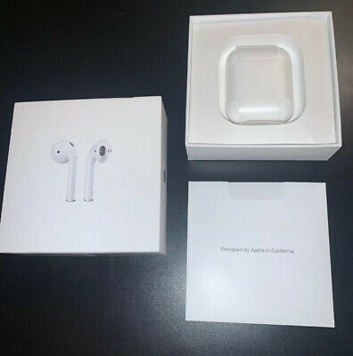 Apple Airpods 2nd Generation With Case and Box USED Good Condition! Great Sound