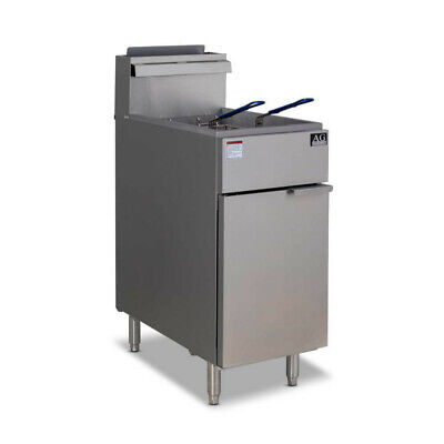 AG Commercial Gas Fryer - 3 Burner (Natural Gas) AG Equipment|