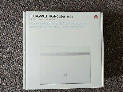 Huawei B525s-65a 4G Wireless Router Modem - AS NEW (White) LTE WiFi 2.4 & 5G