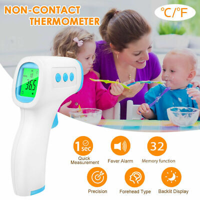 Baby Adults Forehead Body Thermometer Digital IR Infrared Termometer Non-Contact