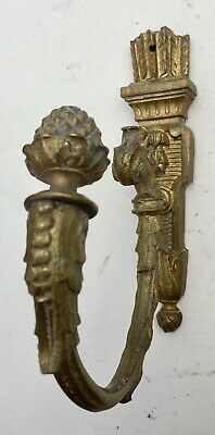 Large Antique Louis Philippe Cast Brass French Classical Coat/Hat Hook, c.1850
