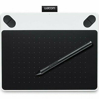 Wacom Intuos CTL-490 White Creative Pen Digital Touch Tablet