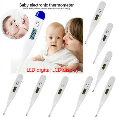 Baby/Adult Oral LCD Digital Thermometer Health Medical Thermometers Practice lot