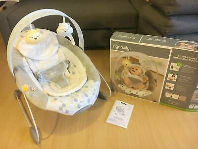 Ingenuity Automatic Music Bouncer - New condition with batteries