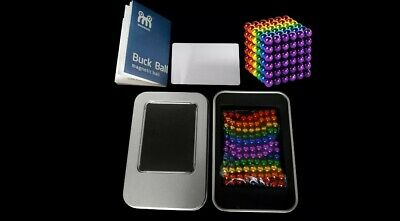 216pcs 3mm Powerful Magnetic Multi-COLOURED BALLS With CHOPPING CARD.