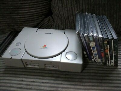 Region Free Ps1 PlayStation 1 console bundle with games