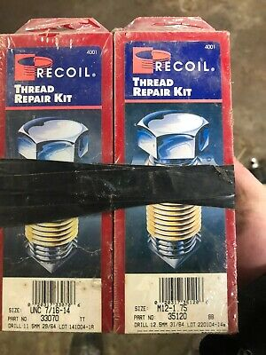 Recoil Thread Repair Kit (Lot Of 6)