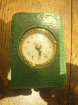 Miniature Carriage Clock With Alarm In Case