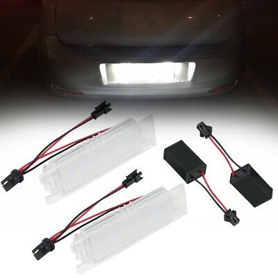 elegantstunning For Alfa Romeo 147 156 159 166 Giulietta Mito GT Spider MiTo Led License Lights