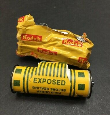 One Roll Of Exposed Kodak Kodacolor 2 Film From Brownie Fiesta Thrift Store Find