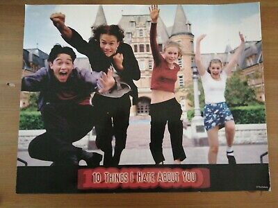 10 things I hate about you, Movie, print, poster, wall art, gifts, Home decor