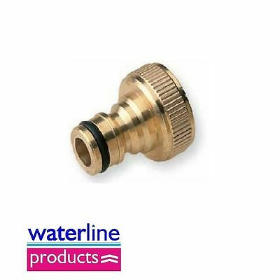 Hozelock Type Brass Fittings Quick Threaded Tap Connector BSP Female