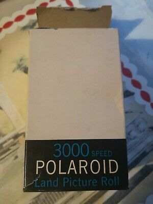 Polaroid Type 47 3000 speed Land Picture Roll extremely rare + print coater