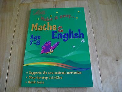 Letts Bumper Make It Easy Maths English Ks2 Age 7-8 Key Stage 2 Activities Tests