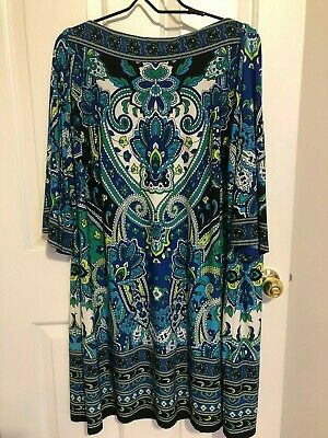 2 XL Roz & Ali / Dressbarn Plus size 20 dress. Free Shipping