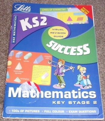 Key Stage 2 MATHS SUCCESS GUIDE Letts Educational Paperback 2001 Visual Revision