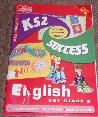 Key Stage 2 ENGLISH SUCCESS GUIDE Letts Educational Paperback 2001 Visual Revise