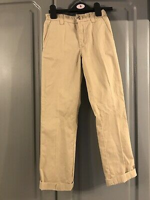 Lacoste Boys Classic Chinos Age 8 NEW
