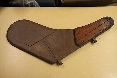 Antique Wood Sailboat Rudder - Nautical Display, Home Decor, Wall Hanger