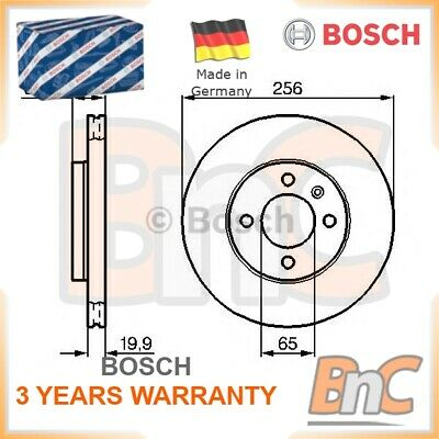 2x BOSCH FRONT BRAKE DISC SET VW SEAT OEM 0986478308 M14071