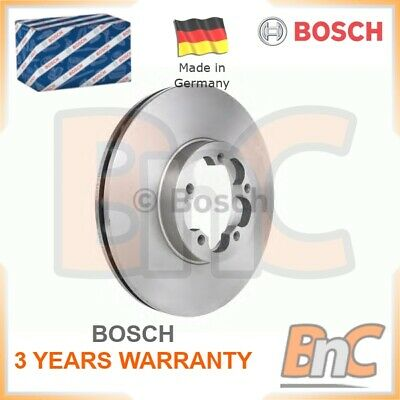 2x BOSCH FRONT BRAKE DISC SET FORD TRANSIT BOX TRANSIT BUS TRANSIT OEM