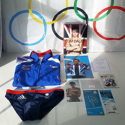 Tom Daley London 2012 Olympics Memorabilia - Ultimate Collection - Ultra Rare!
