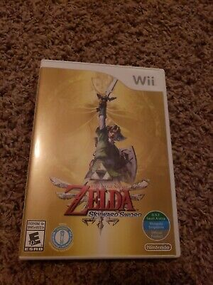 THE LEGEND OF ZELDA: SKYWARD SWORD NINTENDO Wii, 2011 FREE SHIPPING