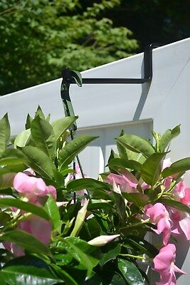 MINTCRAFT: ADJUSTABLE FLOWER BOX / RAILING BRACKETS (2 per package ) BRAND NEW