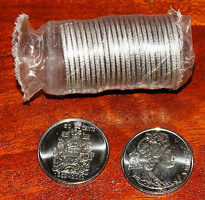 2002 Canada Half Dollar-50 Cent Coin Uncirculated Right from Bank Roll
