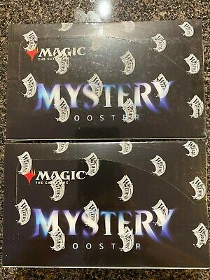 2 Mystery Booster Boxes - Retail Exclusive MTG - Magic The Gathering