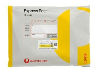 Unwanted Express Large Satchel up to 5kg (10 Pack) New Style. (315 x 405mm)