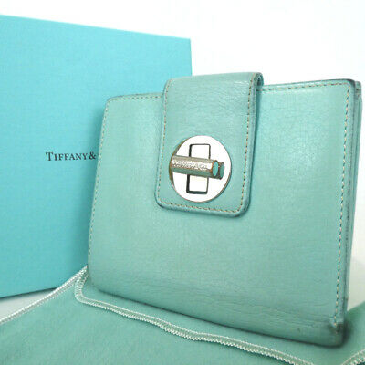 Authentic TIFFANY&Co.  wallet leather[Used]