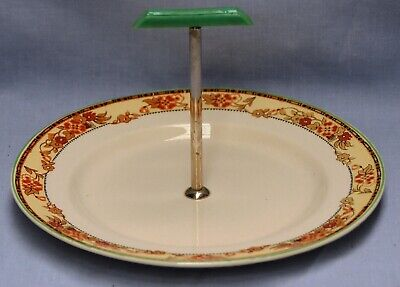 British Anchor Serving Plate With Centre Handle