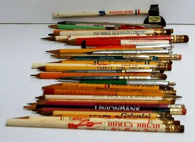 Collection Of Advertising Pencils